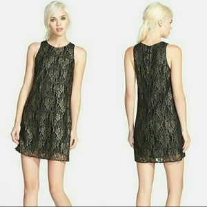 ASTR Black and Gold Cocktail Dress /Small